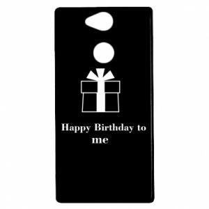 Sony Xperia XA2 Case Happy Birthday to me