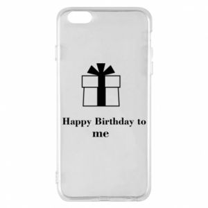 Etui na iPhone 6 Plus/6S Plus Happy Birthday to me
