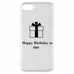 Etui na iPhone 7 Happy Birthday to me