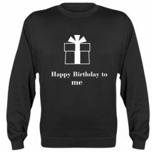 Bluza (raglan) Happy Birthday to me