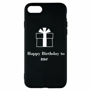 Etui na iPhone 8 Happy Birthday to me