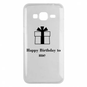 Etui na Samsung J3 2016 Happy Birthday to me