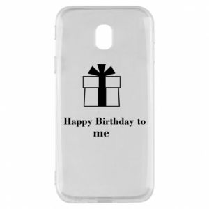Etui na Samsung J3 2017 Happy Birthday to me