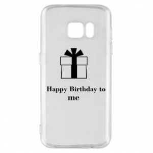 Etui na Samsung S7 Happy Birthday to me
