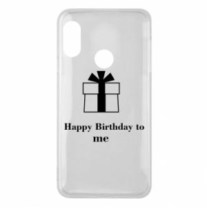 Etui na Mi A2 Lite Happy Birthday to me