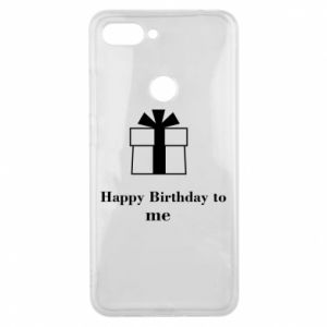 Etui na Xiaomi Mi8 Lite Happy Birthday to me