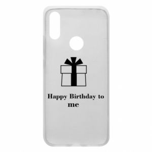 Etui na Xiaomi Redmi 7 Happy Birthday to me