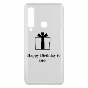 Etui na Samsung A9 2018 Happy Birthday to me