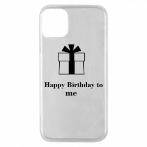 Etui na iPhone 11 Pro Happy Birthday to me