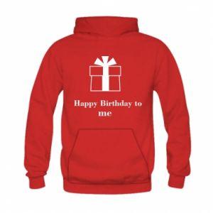 Kid's hoodie Happy Birthday to me