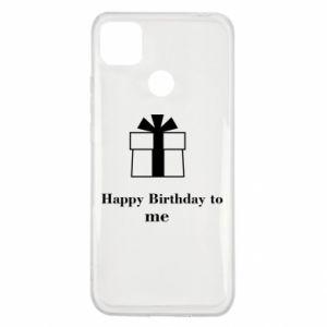 Xiaomi Redmi 9c Case Happy Birthday to me