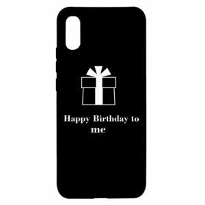 Xiaomi Redmi 9a Case Happy Birthday to me