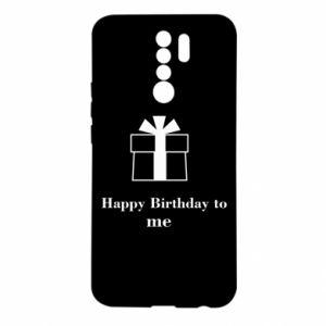 Xiaomi Redmi 9 Case Happy Birthday to me