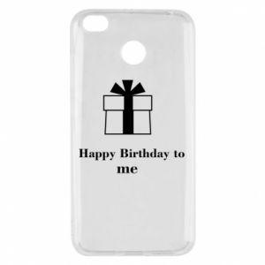Xiaomi Redmi 4X Case Happy Birthday to me