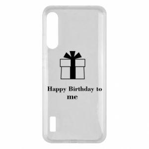 Xiaomi Mi A3 Case Happy Birthday to me