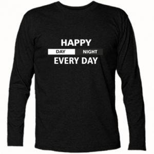 Koszulka z długim rękawem Happy every day