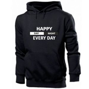 Bluza z kapturem męska Happy every day