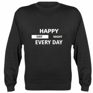 Bluza (raglan) Happy every day