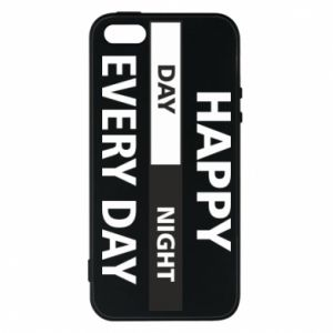 Etui na iPhone 5/5S/SE Happy every day