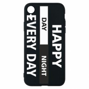 Etui na iPhone XR Happy every day