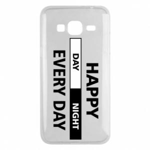 Etui na Samsung J3 2016 Happy every day
