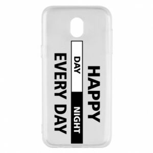Etui na Samsung J5 2017 Happy every day
