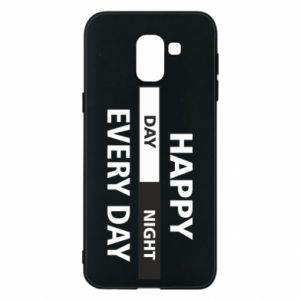 Etui na Samsung J6 Happy every day