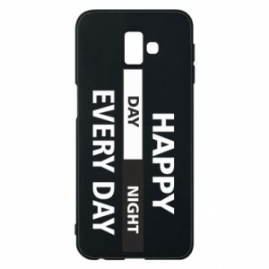 Etui na Samsung J6 Plus 2018 Happy every day