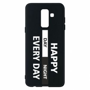 Etui na Samsung A6+ 2018 Happy every day
