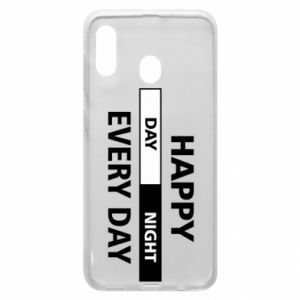Etui na Samsung A30 Happy every day