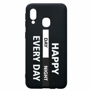 Etui na Samsung A40 Happy every day
