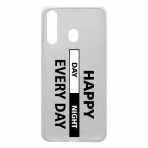 Etui na Samsung A60 Happy every day