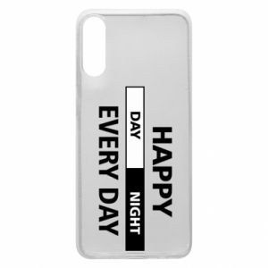 Etui na Samsung A70 Happy every day