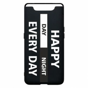 Etui na Samsung A80 Happy every day