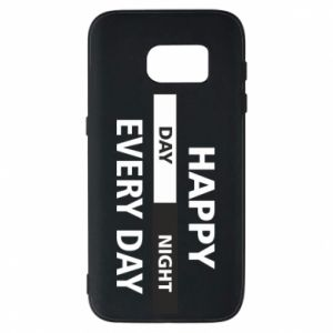 Etui na Samsung S7 Happy every day