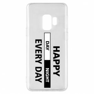Etui na Samsung S9 Happy every day