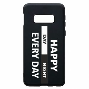 Etui na Samsung S10e Happy every day
