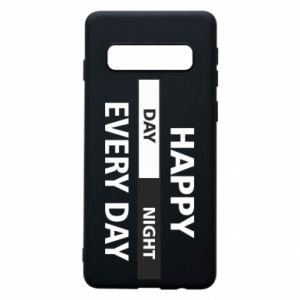 Etui na Samsung S10 Happy every day