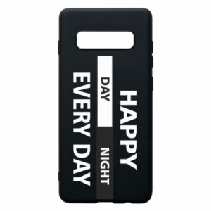Etui na Samsung S10+ Happy every day