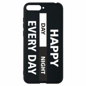 Etui na Huawei Y6 2018 Happy every day