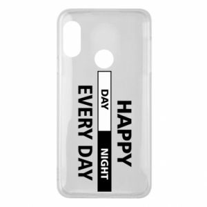 Etui na Mi A2 Lite Happy every day