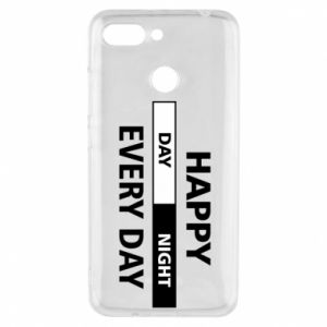 Etui na Xiaomi Redmi 6 Happy every day