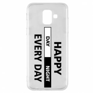 Etui na Samsung A6 2018 Happy every day