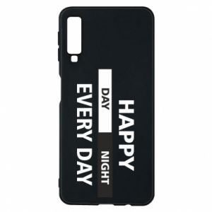 Etui na Samsung A7 2018 Happy every day