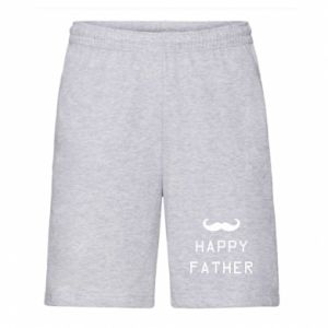 Męskie szorty Happy father - PrintSalon