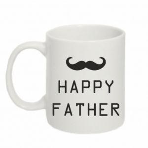 Kubek 330ml Happy father - PrintSalon