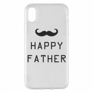 Phone case for iPhone X/Xs Happy father