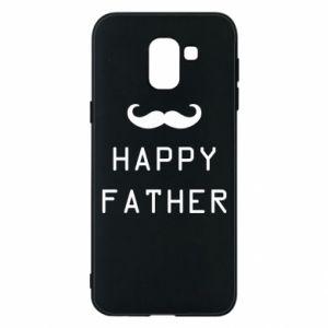 Etui na Samsung J6 Happy father - PrintSalon
