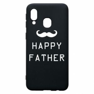 Phone case for Samsung A40 Happy father
