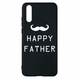Etui na Huawei P20 Happy father - PrintSalon
